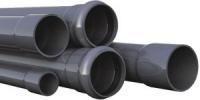Напорная труба нПВХ SDR 26 PN10 160x6,2x6140 мм