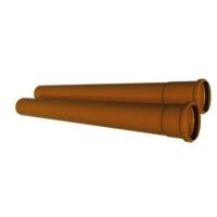Труба ПВХ канализационная 250x6,2x1200 мм